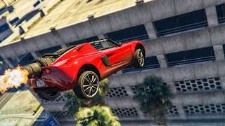 MY CLEANEST STUNT EVER?! - (GTA 5 Stunts & Fails)