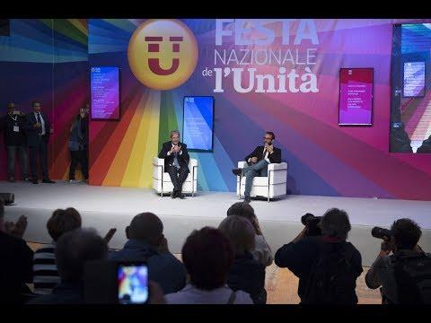 L'intervento di Gentiloni alla Festa nazionale dell'Unità ad Imola (17/09/2017)