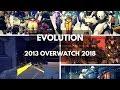 Evolution of Overwatch 2013-2018