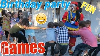Birthday party / GAMES / So much FUN
