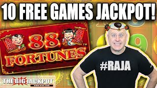 88 Fortunes JACKPOT! 💥10 Free Games WIN 💥   The Big Jackpot