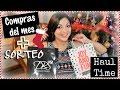 Compras del mes + SORTEO #HaulTime | Lissette Romina ♥