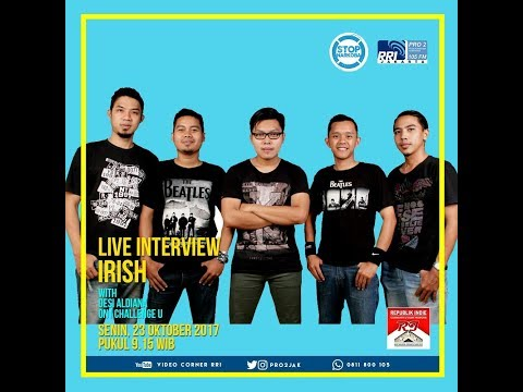 The Irish Band - ICU Pro2 FM RRI Jakarta (Live Video Corner RRI)