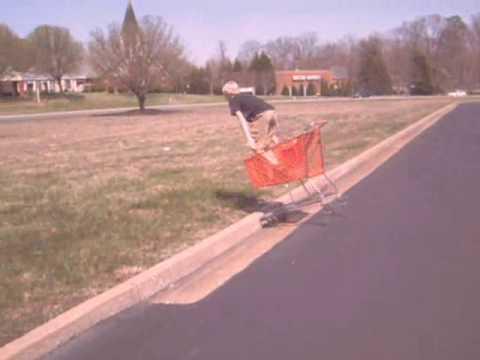 Shopping Cart Neck Break