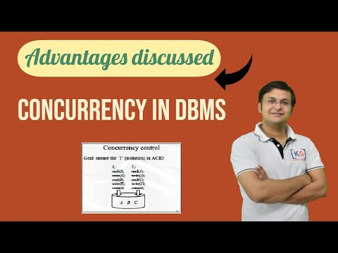Advantage of Concurrency | concurrent execution of transaction in dbms | DBMS