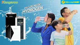 Khỏe đẹp từ bên trong bằng nước HYDROGEN với máy lọc nước KANGAROO • Điện máy XANH
