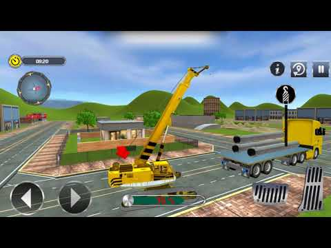City Road Builder Construction Excavator Simulator Gameplay Video Android/iOS