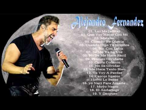Alejandro Fernández 20 Grandes Canciones - Éxitos Romanticas