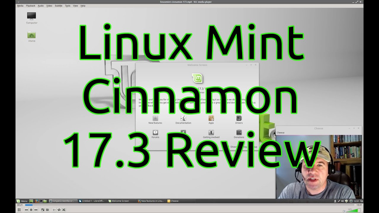 Linux mint 17 3 cinnamon review youtube