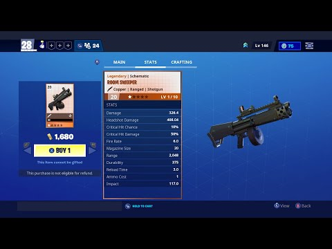 !!! ROOM SWEEPER !!! Fortnite Save The World Item Shop May 27 2020