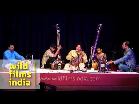 Anil Kumar Saha and group perform Hindustani classical