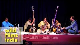 Anil Kumar Saha and group perform Hindustani classical