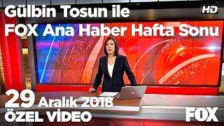 Çocuklarının gözü önünde can verdi! 29 Aralık 2018 Gülbin Tosun ile FOX Ana Haber Hafta Sonu