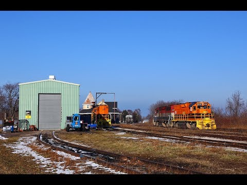 Goderich-Exeter Railway Action On Home Rails - Statford To Goderich 1/05/2019