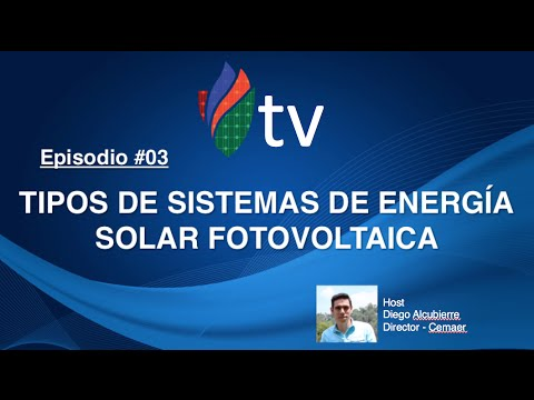 Tipos de Sistemas de Energía Solar Fotovoltaica - CEMAER Tv