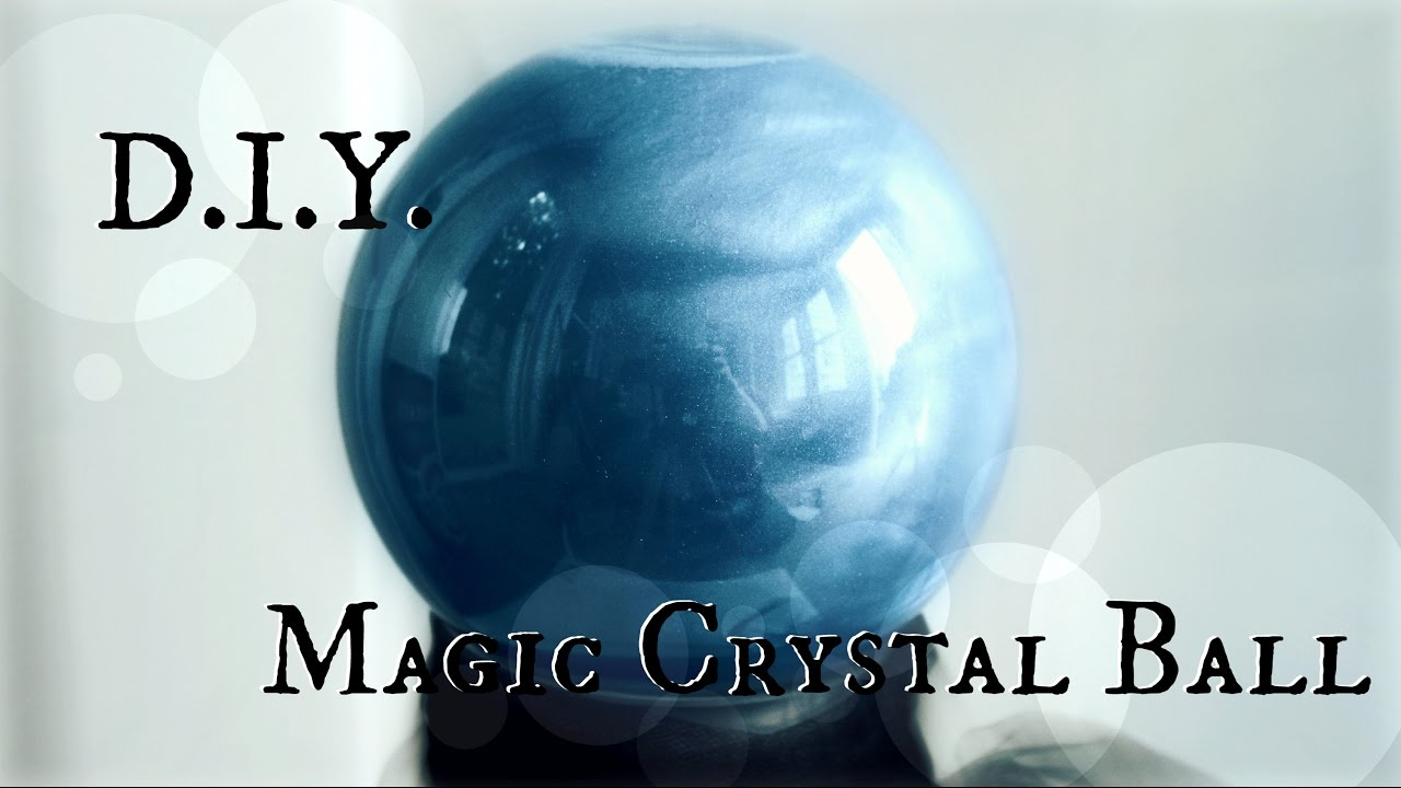 How To Make A Fortune Teller S Crystal Ball Diy