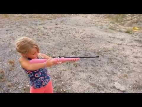 5 YEAR OLD SHARP SHOOTER PINK CRICKET 22
