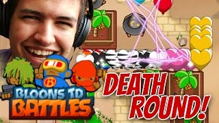 BTD Battles | EPIC ROUND 13 OF DEATH! | Best Bloons Tower Defense Win Strategy?!