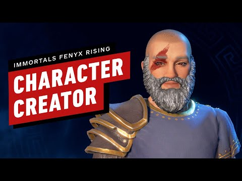 Immortals Fenyx Rising: Character Creator Gameplay