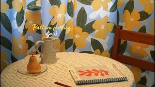 창문 벽 가리개 커튼 제작과정(패브릭 인쇄)브이로그 /…