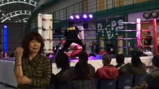 尼崎プロレス AWF 2017年3月26日ガルーダナイトvo3スリーウェイマッチ マスク・ド・ガサキ