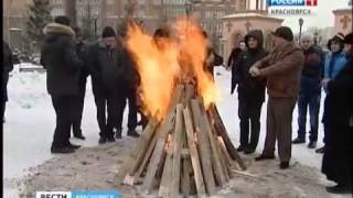 Ekhpayrutyun RU - Вести Красноярск о Трндезе 13 февраля 2014