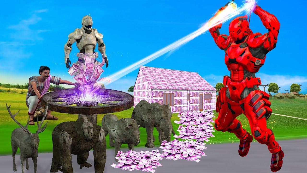 जादुई मिट्टी के रोबोट Magical Clay Robot Comedy Video Hindi Kahaniya हिंदी कहानियां Comedy Video