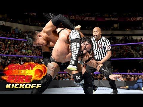 Akira Tozawa vs. Neville  Cruiserweight Championship Match: WWE Great Balls of Fire Kickoff 2017