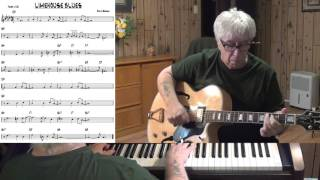 Limehouse Blues - Jazz guitar & piano cover ( Philip Braham )