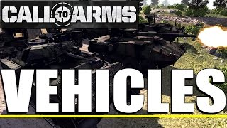 Call to Arms - Vehicle Overview