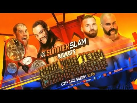 WWE Summerslam 2018 Full Match Card HD