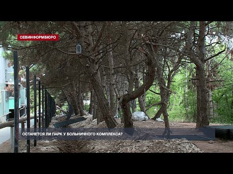 НТС Севастополь: Поликлиники у больничного комплекса Севастополя построят на месте парка