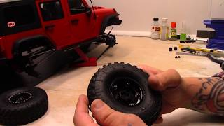 Adding Some Extra Weight to the Axial SCX10 ii Xtraspeed Jeep JK