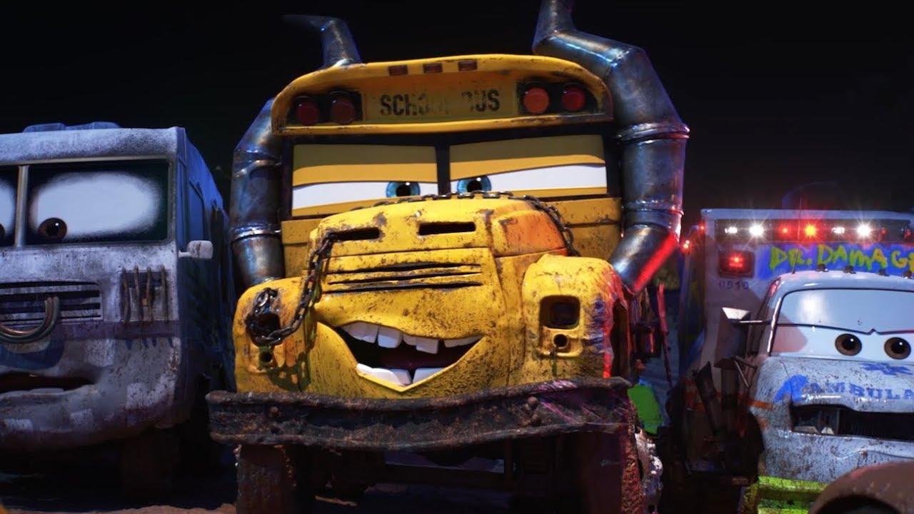 Disneypixar Cars 3 Miss Fritter Clip Dal Film Youtube