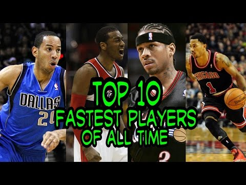NBA Top 10 Fastest Players of All Time