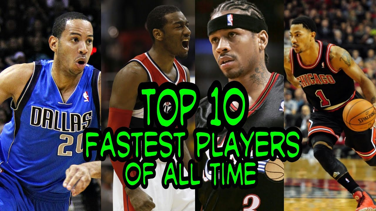 NBA Top 10 Fastest Players of All Time - YouTube
