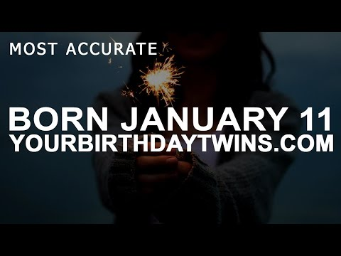 Born On January 11 | Birthday | #aboutyourbirthday | Sample