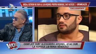 WOWBIZ (29.11.2017) - Conflict dur intre Arsinel si Mihai Bendeac! Partea I