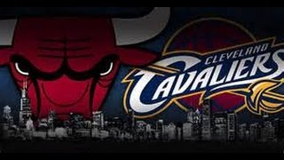 Chicago Bulls vs Cleveland Cavaliers LIVE at United Center (2/12/15 Full 4th Quarter)