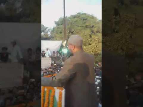 #AIMIM Party President Barrister #AsaduddinOwaisi addressing a Grand Public meeting in Allahabad