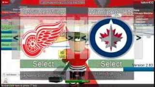 NHL 3v3 Hard coded Hockey on Roblox (part 1)