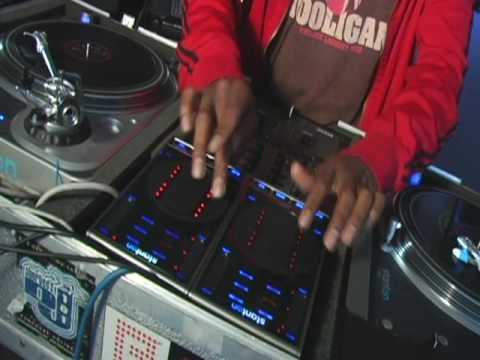 DJ Jungleboy using