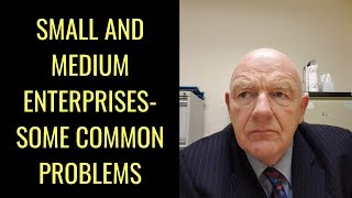 Small and Medium Enterprises (SMEs) in Ireland-Some Common Problems