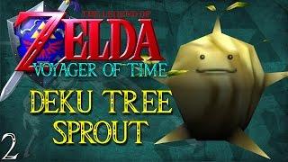 Deku Tree Sprout - Zelda - Voyager of Time (02)