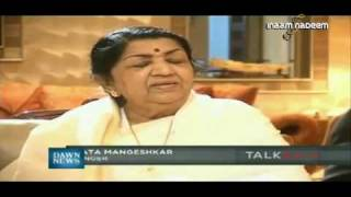 Lata On Noor Jehan - Latest Interview