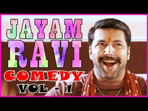 Jayam Ravi Comedy | Vol 1 | Nimirnthu Nil | Romeo Juliet | Soori | VTV Ganesh | Amala Paul