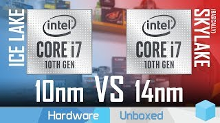 Intel Core i7-1065G7 Benchmarked, Is 10nm Ice Lake Actually Better Than 14nm?