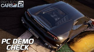 Demo Check! Project CARS 2 German Gameplay [HD] [GER] PC Demo Deutsch