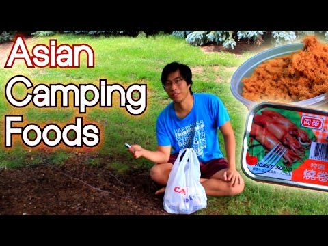 Asian Food for Camping