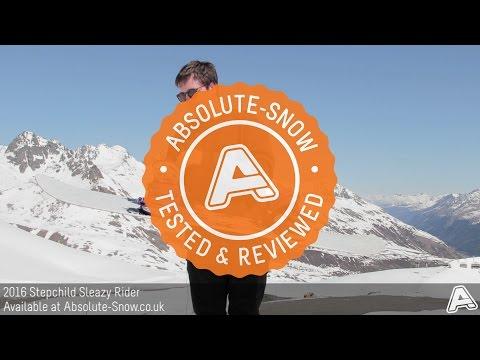 2015 / 2016   Stepchild Sleazy Rider Snowboard   Video Review